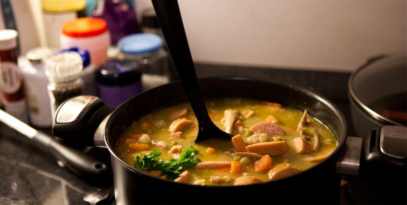 Dutch Pea Soup (Erwtensoep)