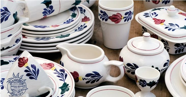 'Boerenbont' : traditional Dutch tableware