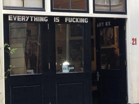 Fuck art